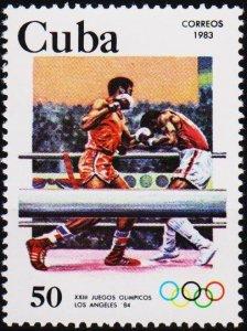 Cuba. 1983 50c S.G.2878 Fine Used