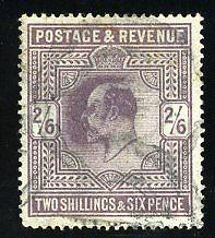 GREAT BRITAIN SCOTT# 139 STANLEY GIBBONS# 260 USED