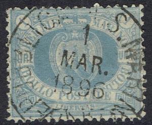 SAN MARINO 1894 ARMS 1L USED