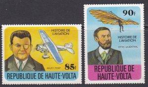 Upper Volta Sc #464-465 Mint Hinged