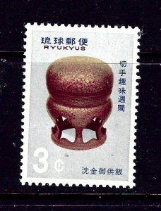 Ryukyu Is 146 MH 1966 Issue
