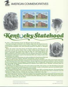 Kentucky Statehood, set 4*
