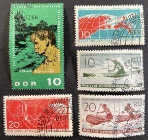 Germany #549,550,561,562,748 Used F/VF LOT 1961-65 [R775]