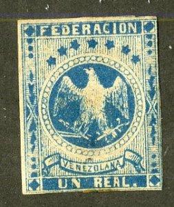 VENEZUELA 14 MINT (BIG THIN) SCV $23.00 BIN $4.50 BIRD