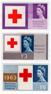 (I.B) Elizabeth II Postal : Red Cross Centenary Congress