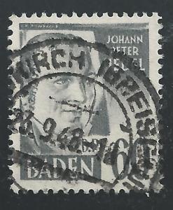 Germany #5N25 60dpf Johann Peter Hebel