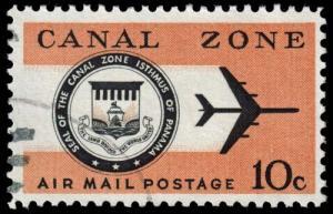 Canal Zone - Scott C48 - Used - Poor Centering