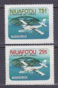 1983 Niuafo'ou 1-2 Airplanes 6,80 €