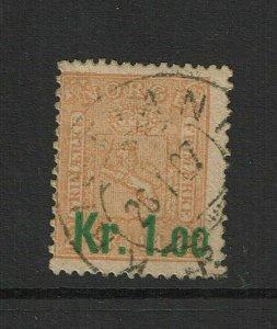 Norway SC# 59, Used, canceled 1907 - S9378