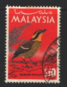 Malaysia Sc#27 Used