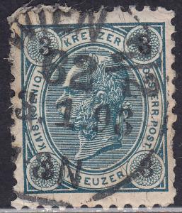 Austria 53 Franz Josef 1890