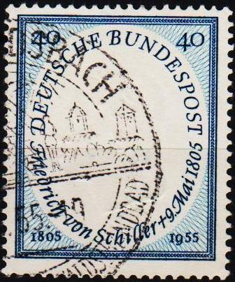 Germany. 1955 40pf S.G.1136 Fine Used