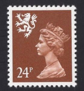 Great Britain Scotland  #SMH48  13 1/2 x 14  MNH  Q E II  24p. Machin