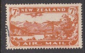 NEW ZEALAND 1931 7d airmail fine used - ACS cat NZ$30.......................M427