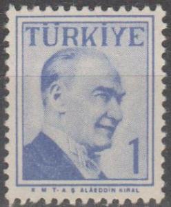 Turkey #1265  MNH F-VF (ST2228)