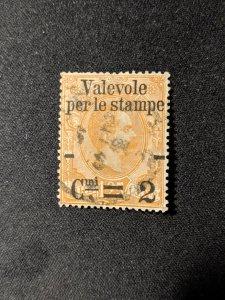 Italy 62 VF, CV $37.50