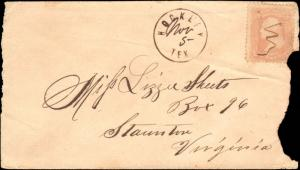 TEXAS HARRIS CTY (1850's Hockley) (Damaged) (34)