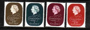 Suriname-Sc#272-5-unused NH set-Queen Juliana-1959-