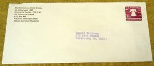 U556 Addressed U.S. Postage Envelope
