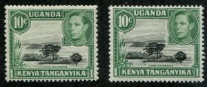 Kenya, Uganda & Tanganyika - KUT SC# 70 70b  SG# 135 135b MNH/MH