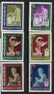 HAITI 444-46 C139-41 MOG 664B