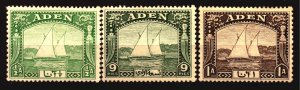 Aden Scott # 1 -3 Unused Hinged