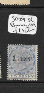 TOBAGO (P2808B) QV  1D/2 1/2D SG29 SL BOUNCE  MOG