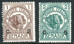 Somalia 10-1 minth LH elephant surcharges      (Inv 001668.)