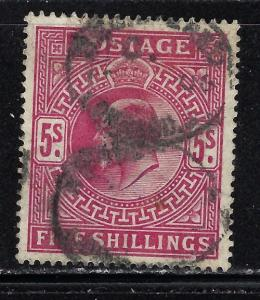Great Britain 140 Used 1902 Issue