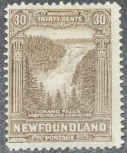 DYNAMITE Stamps: Newfoundland Scott #182 (cr.gum) – MINT hr