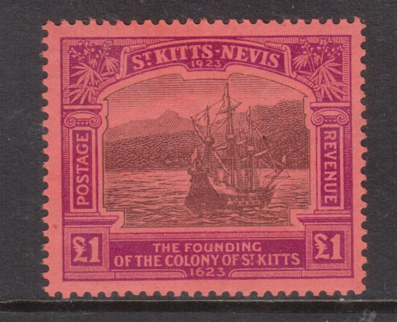 St Kitts & Nevis #64 Very Fine Never Hinged - Scarce