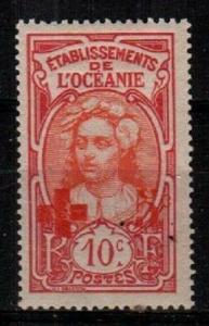 French Polynesia Maury #44 mint hinged (Catalog Value 16 Euros)