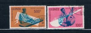 Guinea C19;C21 Used Air Mail (G0025)