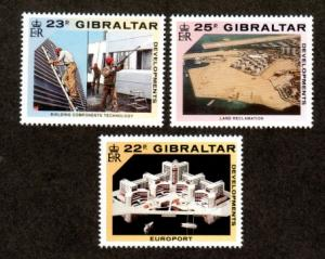 Gibraltar  578-580 Mint NH MNH!