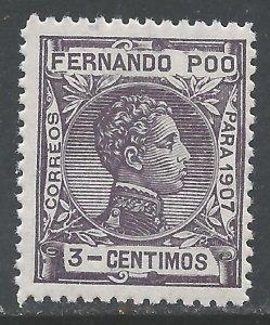 FERNANDO POO 154 MNH S191-5