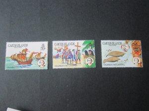 Turks & Caicos Islands 1984 Sc 50-2 set MNH