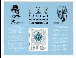 Estonia Stamp Sc#269-(1994)- Festival Badges