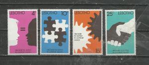 Lesotho Scott catalogue #241-244 Unused Hinged