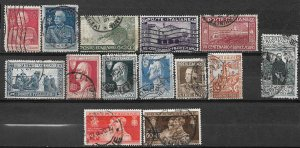 COLLECTION LOT OF # 832 ITALY 14 STAMPS 1925+ CV+$21