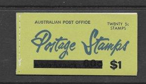 Australia 398a 1967 booklet  VF