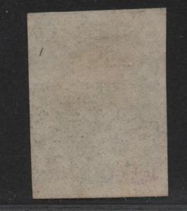 $US Sc#15 used, XF, sound stamp, nice margins! Cv. $140