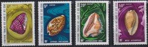Afars and Issas 358-361 MNH (1972)