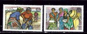 Zambia 643-44 MNH 1995 set