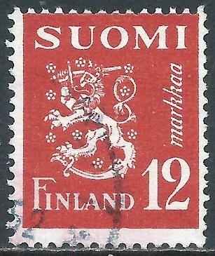 Finland, Sc #294, 12m Used