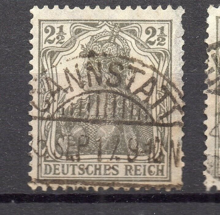 Germany 1916 Early Issue Fine Used 2.5pf. NW-95600