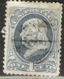 USA Scott 182 Used 1879 1c stamp