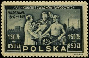 Poland #B42 Mint Never Hinged