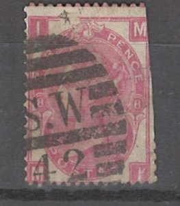 COLLECTION LOT # 3265 GB #49plate8 FAULTY 1867 CV=$62.50