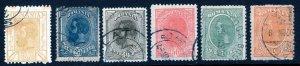 Romania (1911-19) #224-9 used