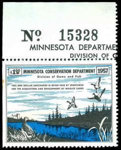 U.S. MINNESOTA ST. REVS A1  Mint (ID # 83983)